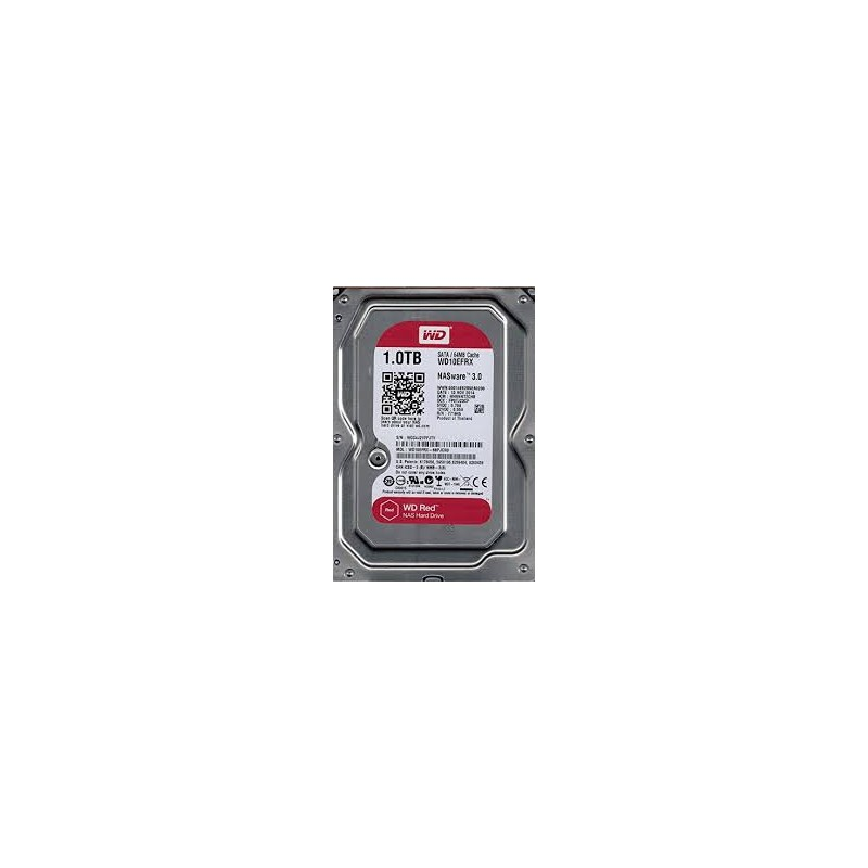 "WD Red WD10EFRX 1 To - 3.5"" - Interne - SATA - Buffer 64 Mo"
