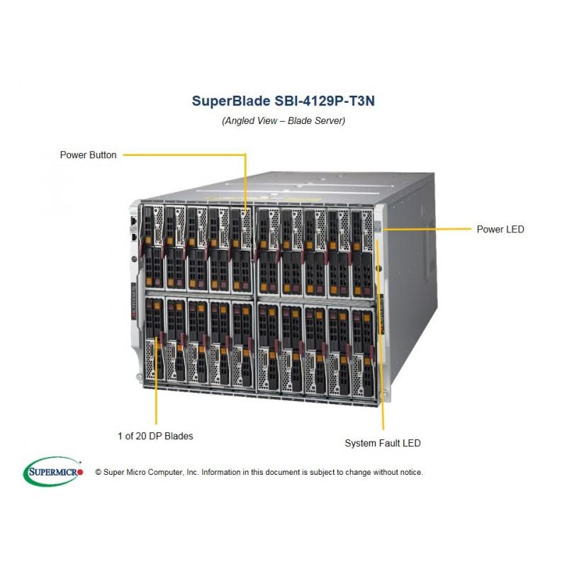 Supermicro Lame SuperBlade SBI-4129P-T3N
