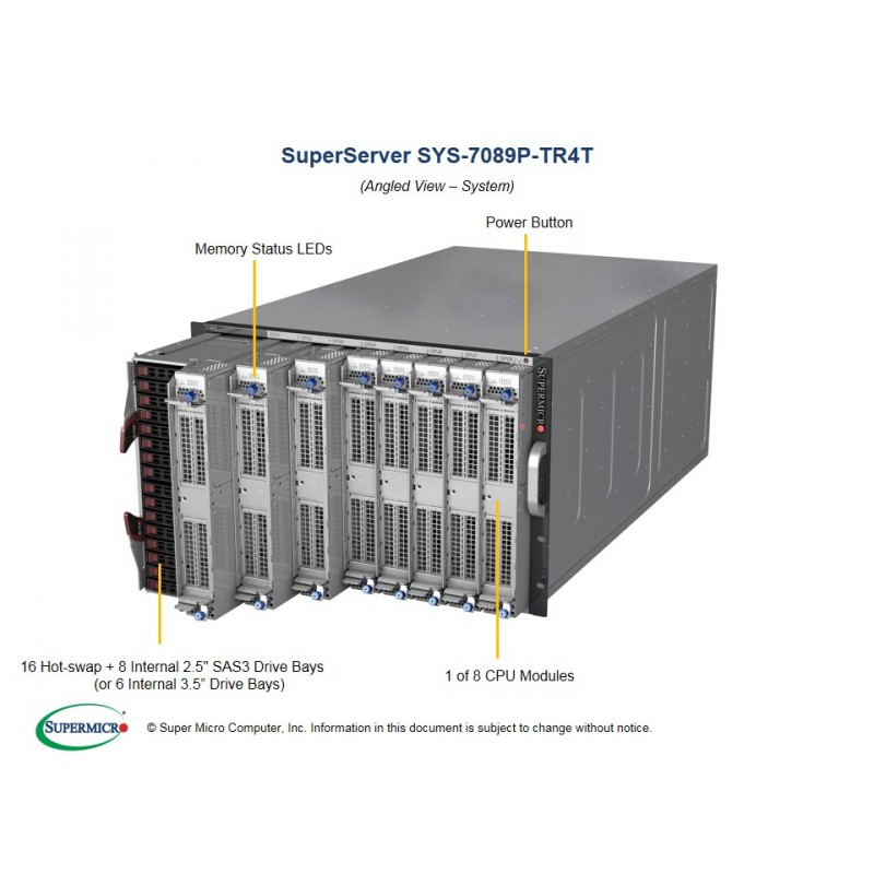 Supermicro SuperServer 7U 7089P-TR4T