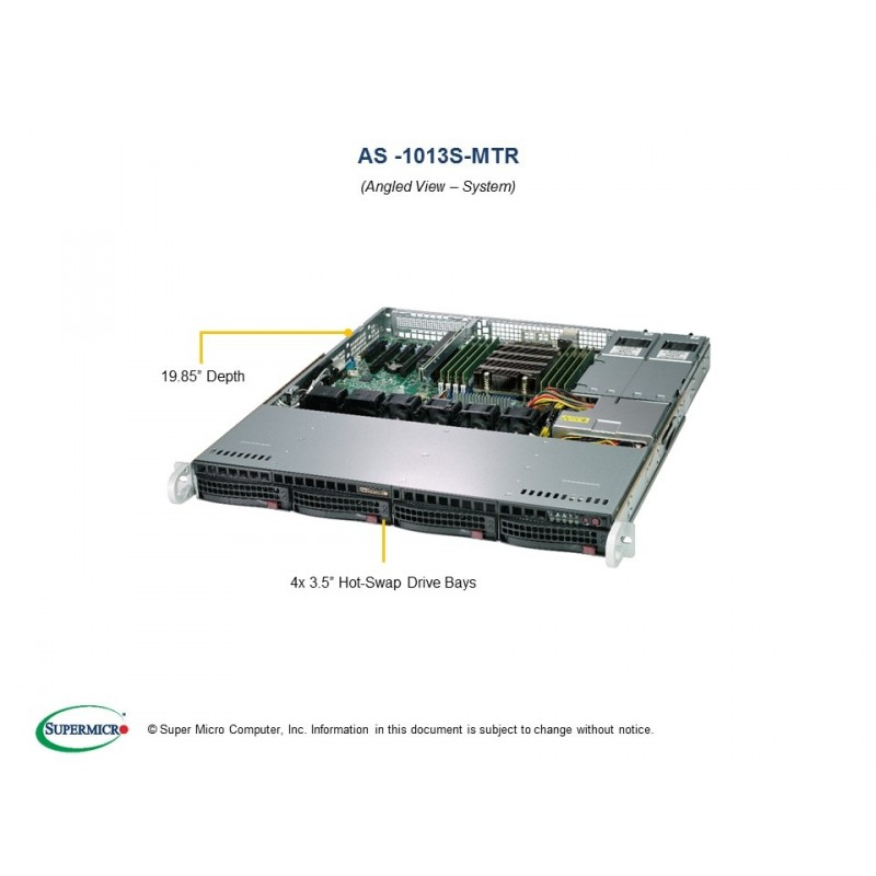 Supermicro A+Server 1U 1013S-MTR
